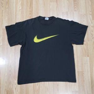 Vintage Nike Swoosh Big Logo T Shirt Size Large